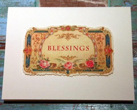 Blessings Greeting Card at The Sage Lifestyle - The Sage Lifestyle