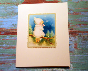Elf Baby Greeting Card at The Sage Lifestyle - The Sage Lifestyle