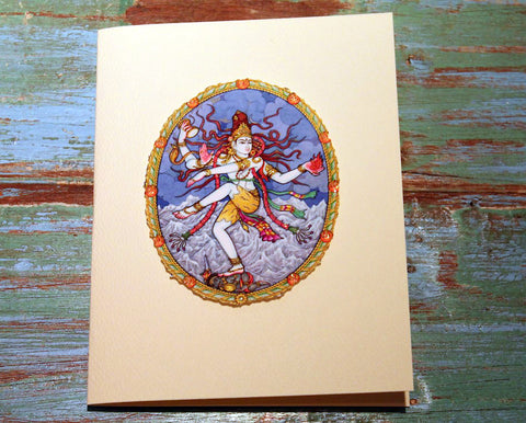 Shiva Greeting Card at The Sage Lifestyle