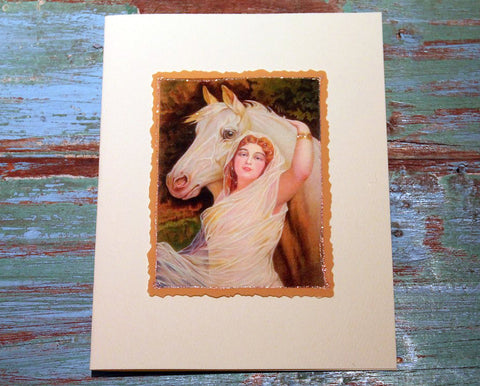Horse Beauty Greeting Card at The Sage Lifestyle