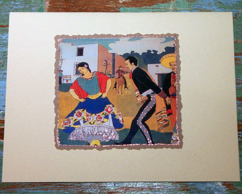 Dancers Greeting Card at The Sage Lifestyle