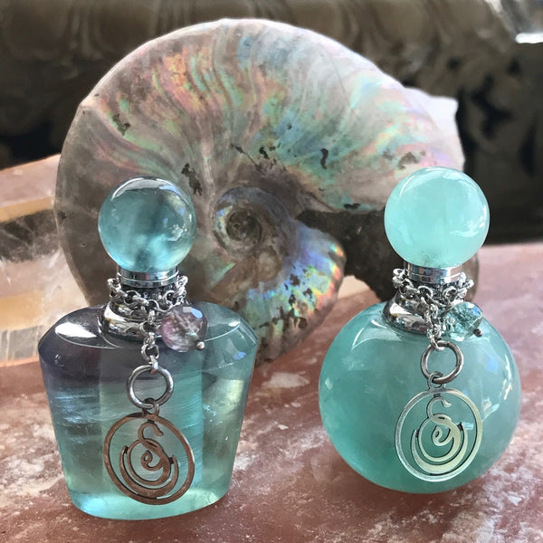Medium Gemstone Perfume Bottle by Sage - Niche Perfume - Vegan Perfume - The Sage Lifestyle