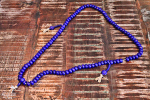 Tibetan Tassle Mala Necklace by Sage - The Sage Lifestyle
