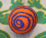 Swirl Ball in a variety of colors - Medium