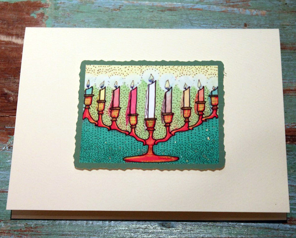 Candleholder Greeting Card at The Sage Lifestyle - The Sage Lifestyle