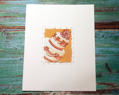 Wedding Cake Greeting Card at The Sage Lifestyle - The Sage Lifestyle