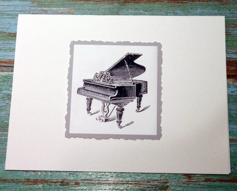Piano Greeting Card at The Sage Lifestyle