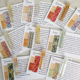 Perfume Oil by Sage - Sample Vial set of 10 Perfume Oil Samples by Sage