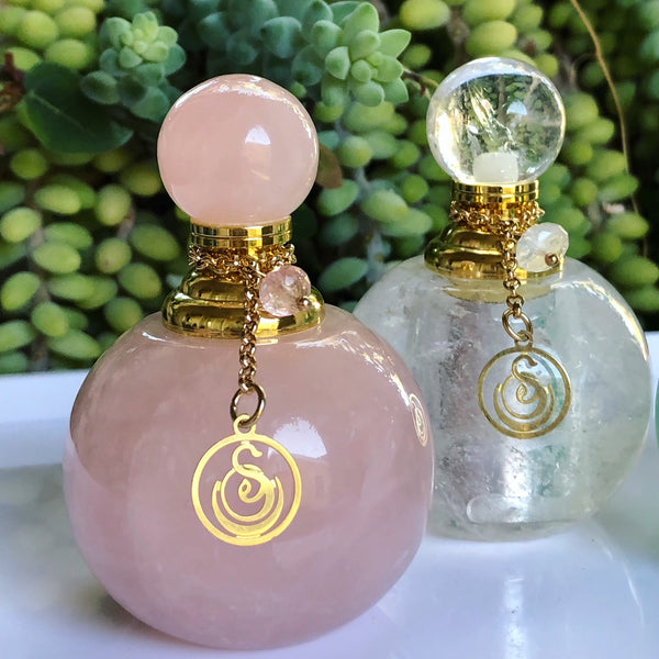 Small Gemstone Perfume Bottle by Sage - Niche Perfume - Vegan Perfume - The Sage Lifestyle