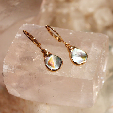 Abalone Tier Drop earrings by Sage - The Sage Lifestyle
