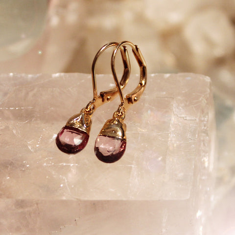 Blush Hydroquartz Earrings by Sage - The Sage Lifestyle