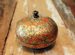 Hand Painted Jewelry Box at Sage - Large - The Sage Lifestyle