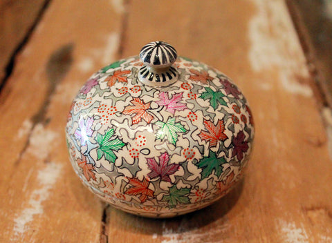 Hand Painted Jewelry Box at Sage - Small