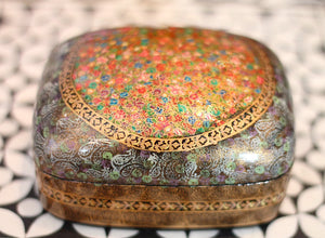 Hand Painted Jewelry Powder Box in Siren Calling - The Sage Lifestyle