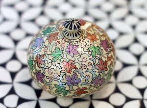 Hand Painted Jewelry Box in Silver November - The Sage Lifestyle