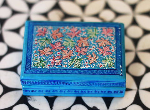 Hand Painted Jewelry Box in Napoli - The Sage Lifestyle