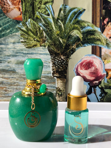 Medium Gemstone Perfume Bottle by Sage - Niche Perfume - Vegan Perfume