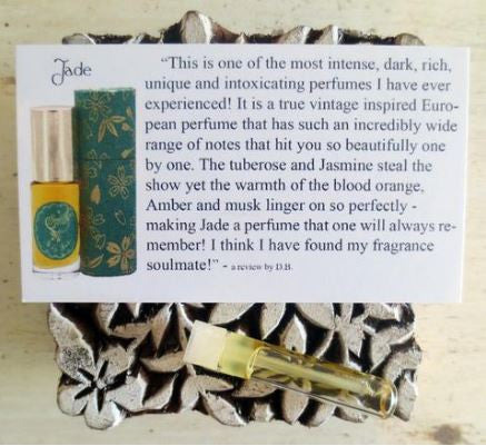 Floral Perfume Oil Sample Vial Set by Sage - The Sage Lifestyle