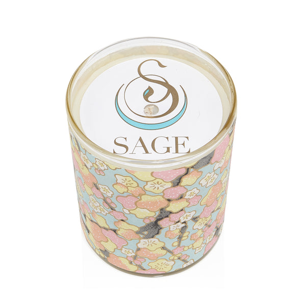 MY ABODE ~ Pearl Gemstone Perfume EDT and Candle Gift Set by Sage - The Sage Lifestyle