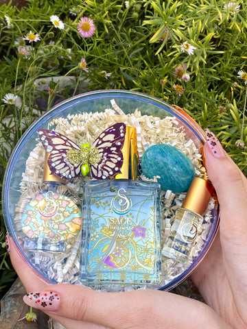 Secret Garden~1/8 oz Perfume Roll-On, 2 oz EDT, and EDT Mini Gift Set by Sage - The Sage Lifestyle