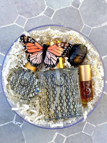 Secret Garden~Perfume Roll-On, 2 oz EDT, and EDT Mini Gift Set by Sage - The Sage Lifestyle