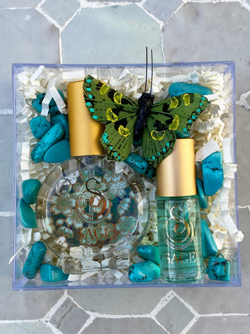 Secret Garden~Perfume Oil Roll-On and EDT Mini Gift Set by Sage - The Sage Lifestyle
