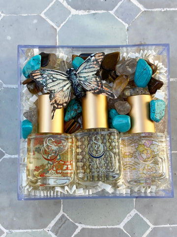 Secret Garden~Diamond, Onyx, and Amber Extract Gift Set by Sage - The Sage Lifestyle