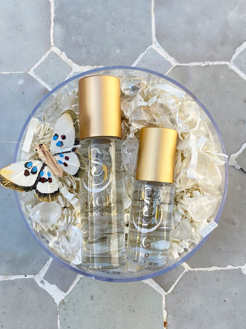 Secret Garden~Gemstone Perfume Oil Roll-On Duo Gift Set by Sage - The Sage Lifestyle