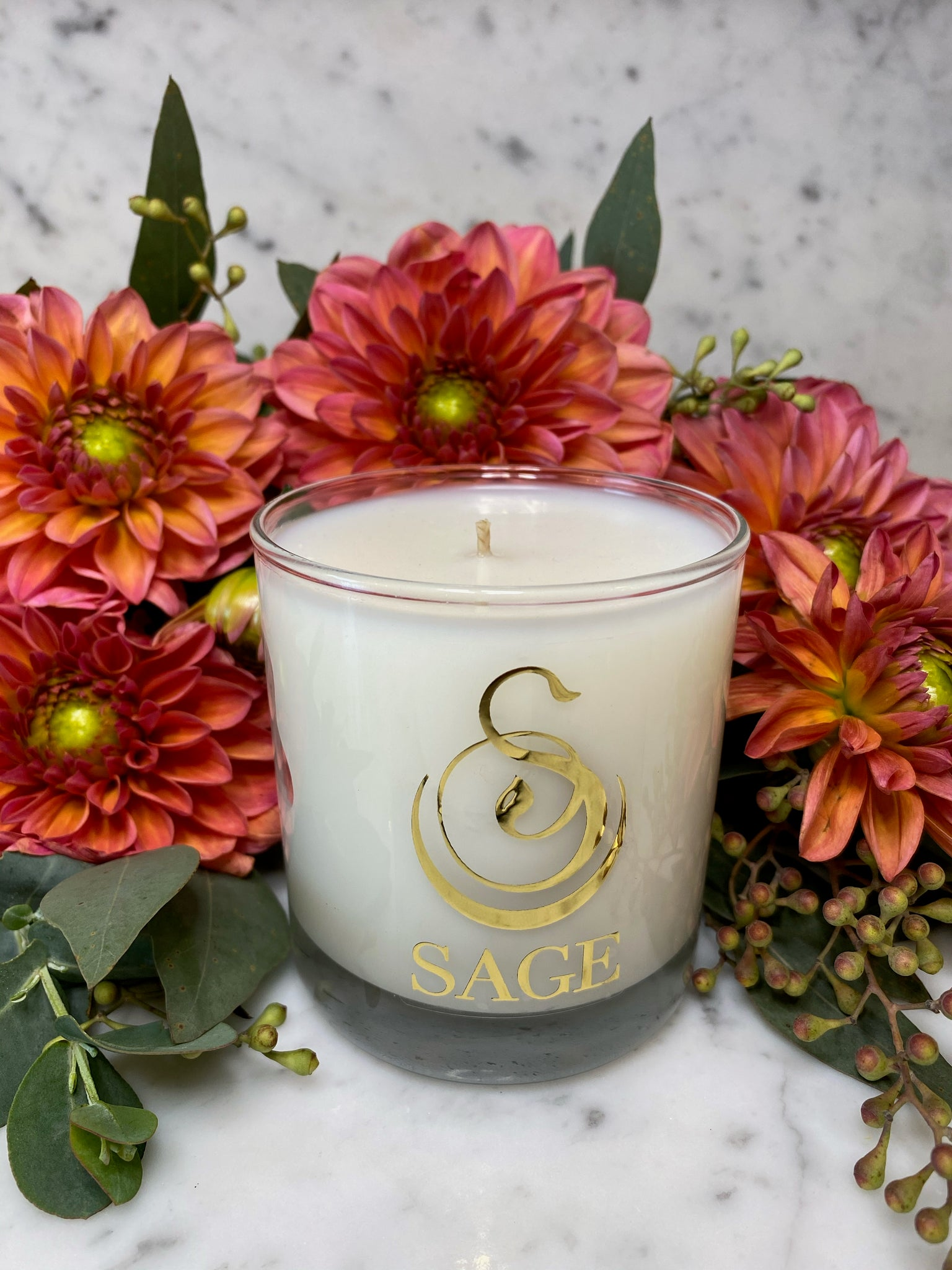 Amber 8 oz Luxury Candle by Sage - The Sage Lifestyle