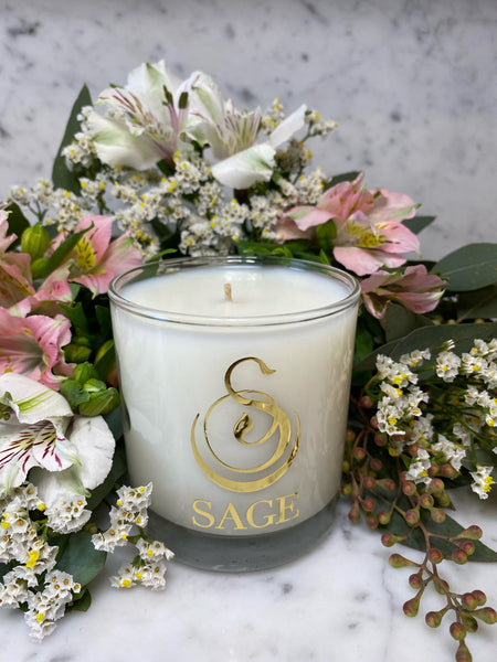 Diamond 8 oz Luxury Candle by Sage - The Sage Lifestyle