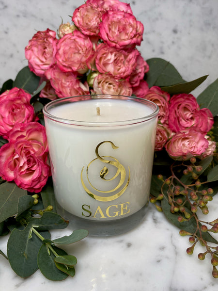 Garnet 8 oz Luxury Candle by Sage - The Sage Lifestyle