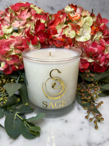 Carnelian 8 oz Luxury Candle by Sage - The Sage Lifestyle