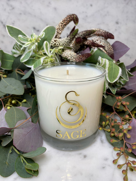 Onyx 8 oz Luxury Candle by Sage - The Sage Lifestyle