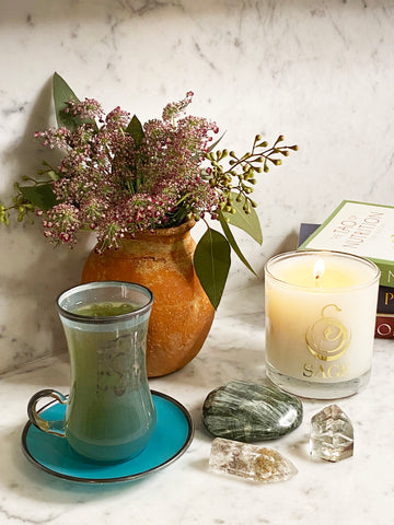 Jade 8 oz Luxury Candle by Sage - The Sage Lifestyle
