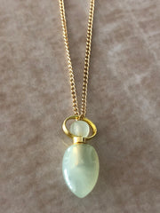 Chloe Gemstone Perfume Bottle Necklace
