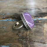 Sterling Silver Cape Amethyst Ring by Sage