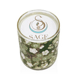 My Abode Sage Roll On Gemstone Perfume and Candle Gift Set