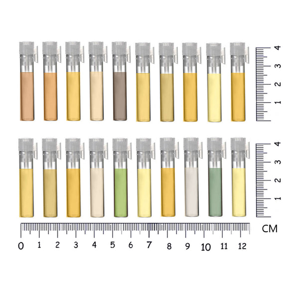 Perfume Oil by Sage - Sample Vial set of 21 Perfume Oil Samples by Sage - The Sage Lifestyle