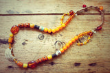 Jinpa One of a kind Vintage Tibetan Necklace by Sage