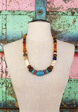 Nele One of a kind Vintage Tibetan Necklace by Sage - The Sage Lifestyle