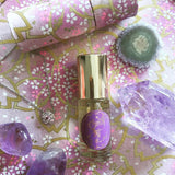 Amethyst Gemstone Perfume Oil Roll-On by Sage - 1/8oz - Niche Perfume - Vegan Perfume - The Sage Lifestyle