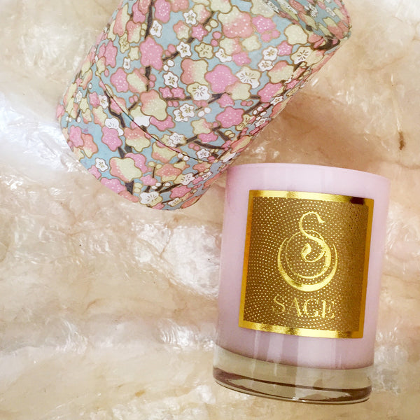 Pearl Candle by Sage - Natural Candles - Vegan Perfumes - The Sage Lifestyle