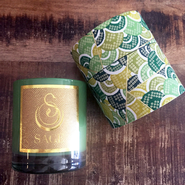 Peridot Candle by Sage - Natural Candles - Vegan Perfume - The Sage Lifestyle