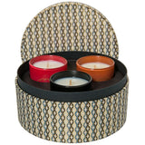 Candle Gift Set by Sage - Onyx, Amber and Garnet