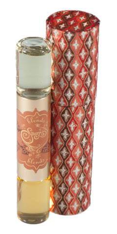Amber and Carnelian Eau de Parfum Dual Roll-on - The Sage Lifestyle