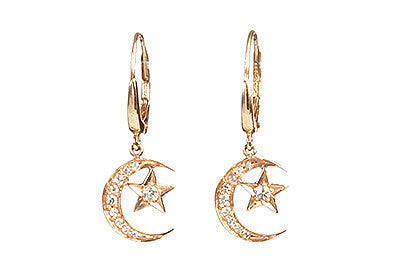 Bridal, Estate Jewelry Luna Earrings by Sage - The Sage Lifestyle