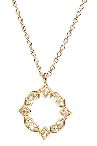 Bridal, Estate Jewelry Small Estate Necklace Yellow Gold by Sage - The Sage Lifestyle