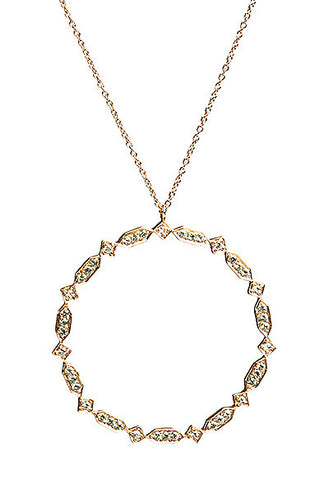 Bridal, Estate Jewelry Large Estate Necklace by Sage - The Sage Lifestyle