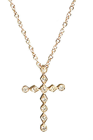 Bridal, Estate Jewelry Estate Cross Necklace by Sage - The Sage Lifestyle