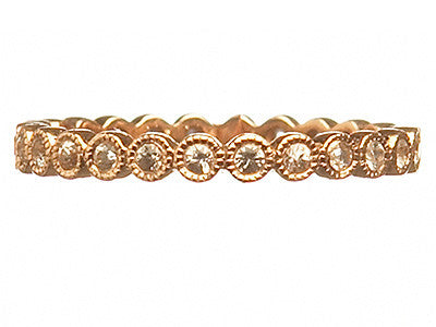 Bridal, Estate Jewelry Keepsake Eternity Ring Rose Gold by Sage - The Sage Lifestyle